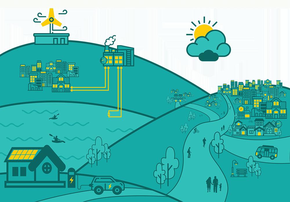 Smart Energy Communities illustration
