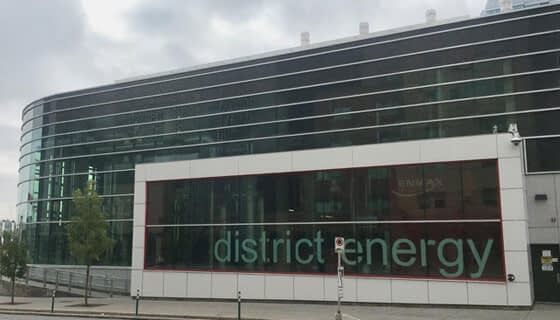 The ENMAX District Energy Centre in Calgary